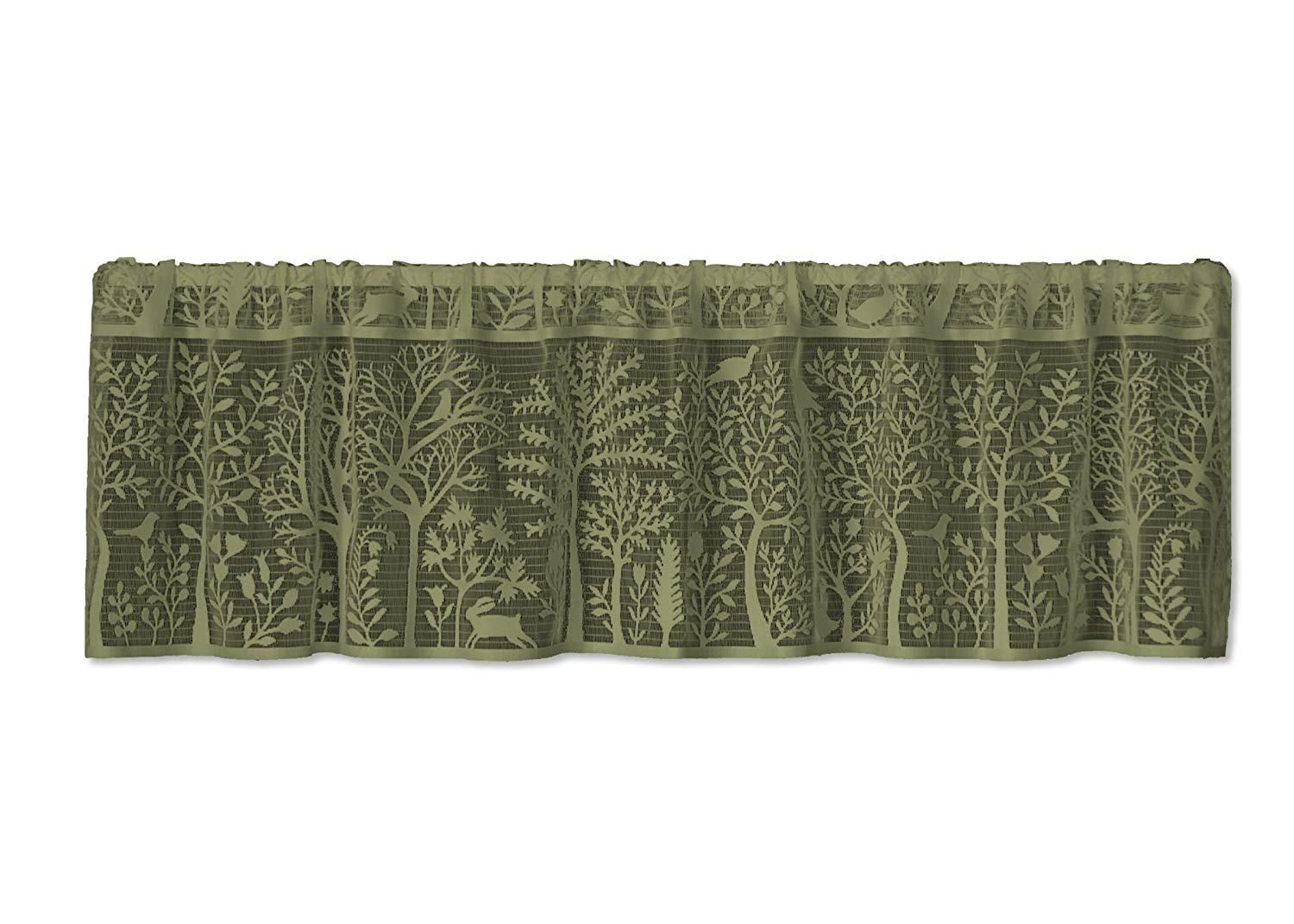 Heritage Lace Rabbit Hollow Collection Valances Tiers
