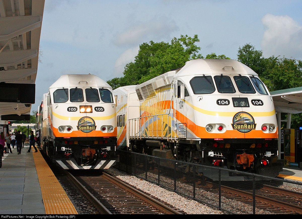 RailPictures.Net Photo: CFRC 105 Sunrail MPI MP32PH-Q at Lake Mary, Florida by Bob Pickering (BP)