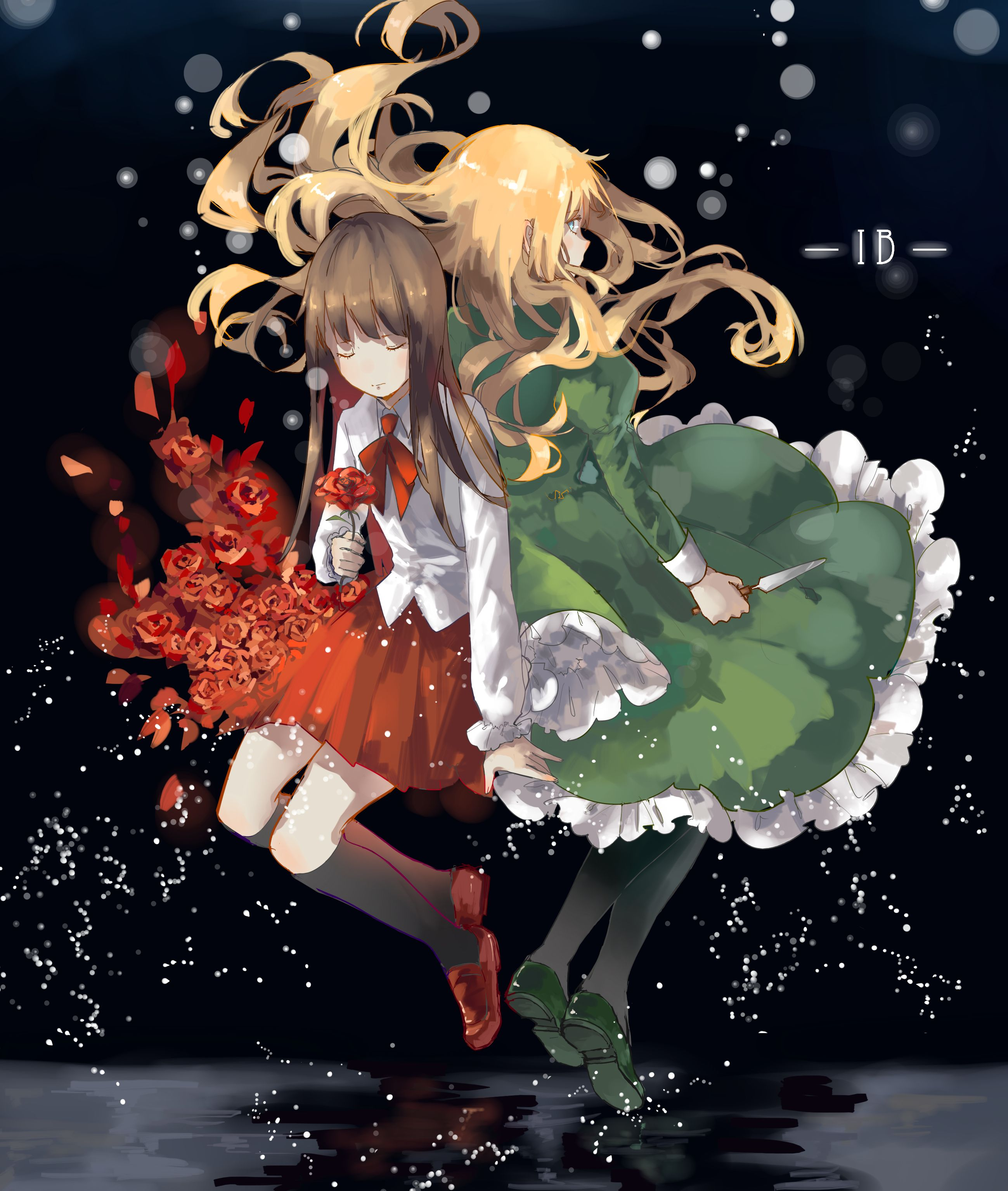 Mary and Ib Ib game, Rpg horror games, Rpg maker