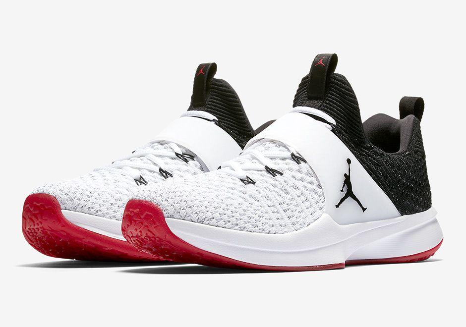 d2650bd6f9be The Jordan Trainer 2 Flyknit Chicago Bulls Collection features Home and  Away looks on the latest training model from Jordan Brand. Available now
