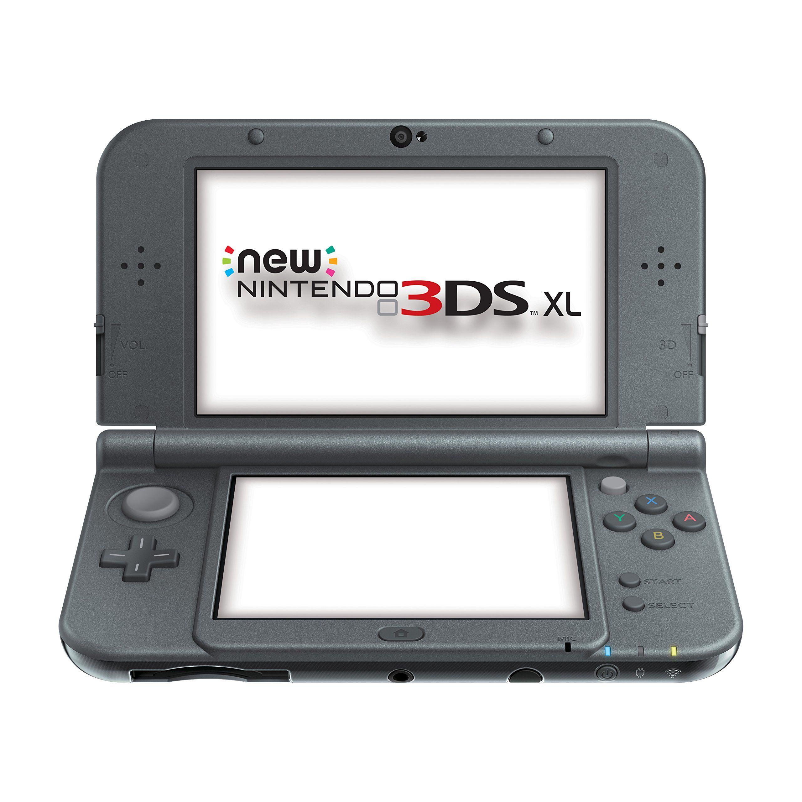 Amazon.com: New Nintendo 3DS XL - Black: 8 Octava generación- 11 de octubre de 2014