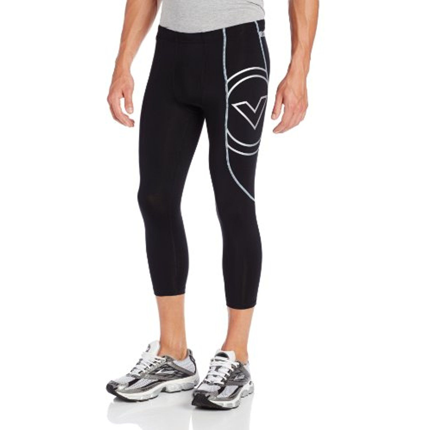 fa3d5f5f344c3 VIRUS Men's Stay Cool Tech 3/4 Length Compression Pants *** You can find  more details by visiting the image link. (This is an affiliate link) # Clothing