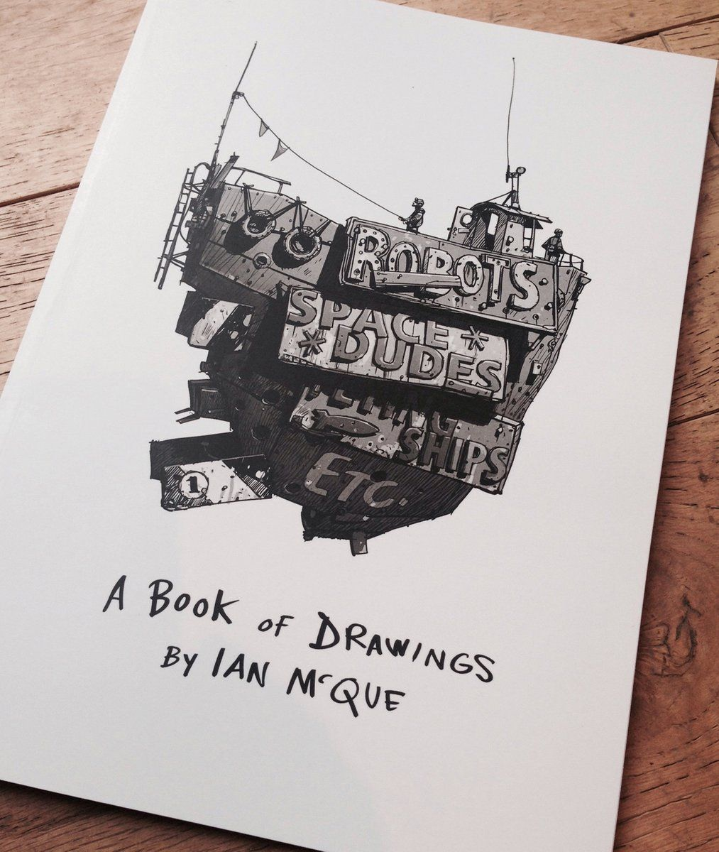 £20 Soft Cover, A4, Perfect-bound Book Of B&w Sketches, 64