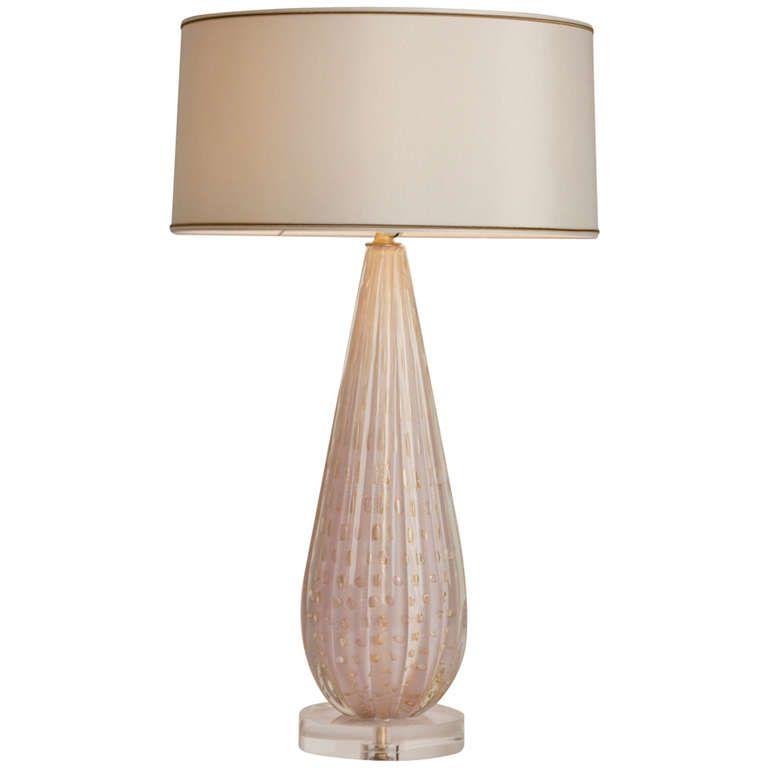 Large Scale Vintage Murano Lamp Murano Lamp Lamp Modern Table Lamp