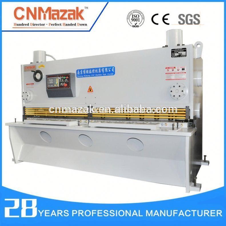 Metal cutting machine steel plate guillotine shear, machine