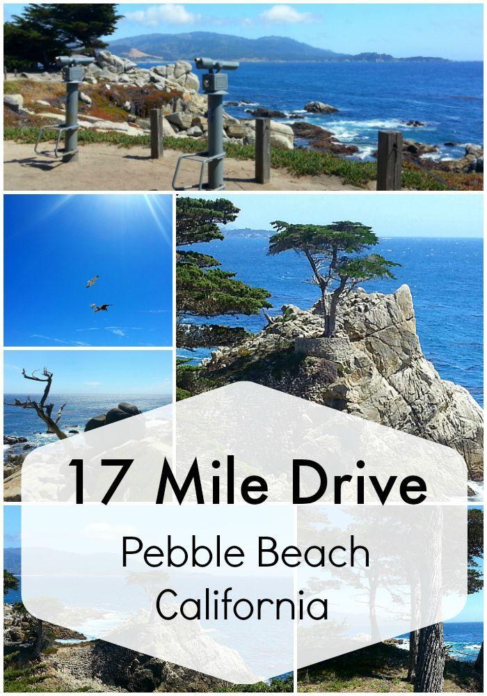 17 Mile Drive Pebble Beach California
