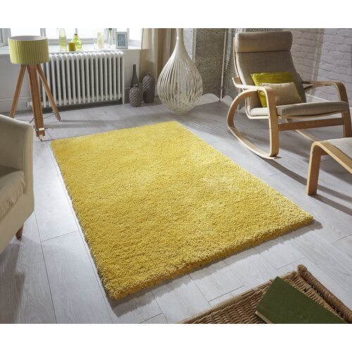 Cremont Yellow Rug Longweave Rug Size Rectangle 120 X 170cm
