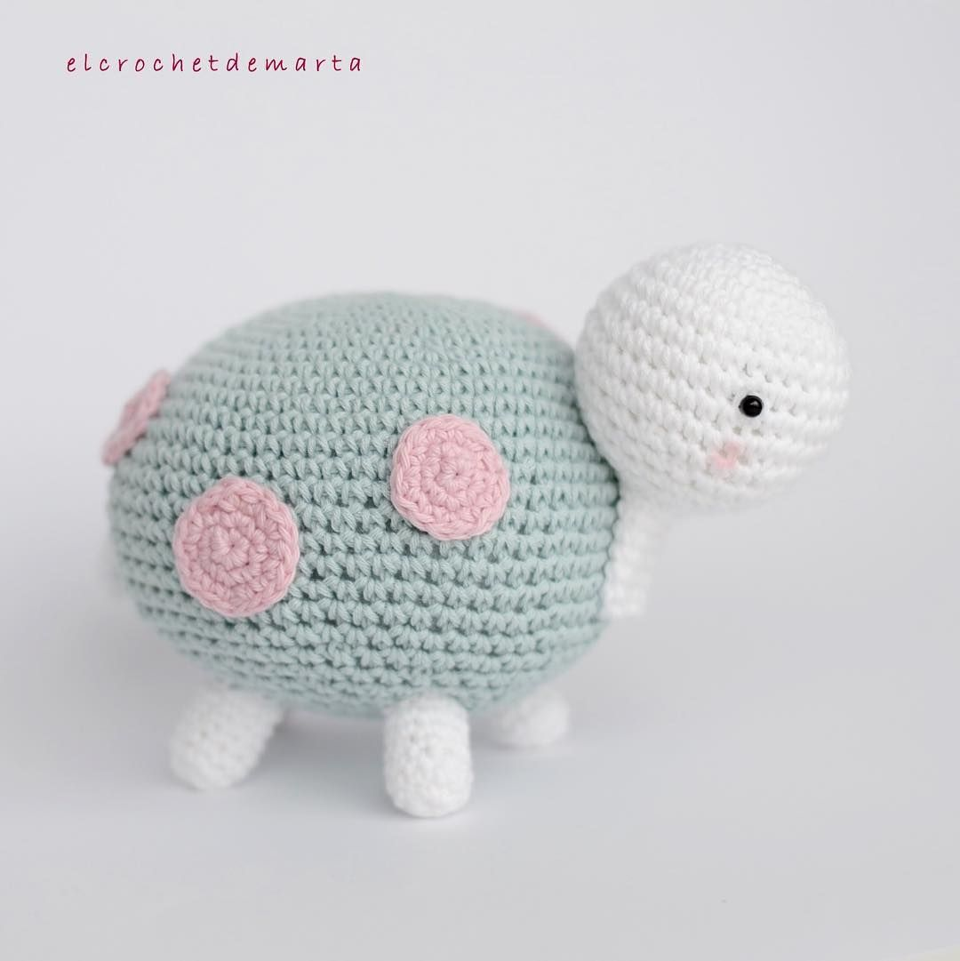 Tootsie la tortuga .. es simplemente adorable Patrón @kornflake_stew ...