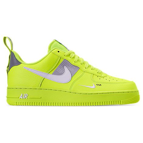 wholesale dealer bfa95 1faf5 NIKE MEN S AIR FORCE 1  07 LV8 UTILITY CASUAL SHOES, YELLOW.  nike