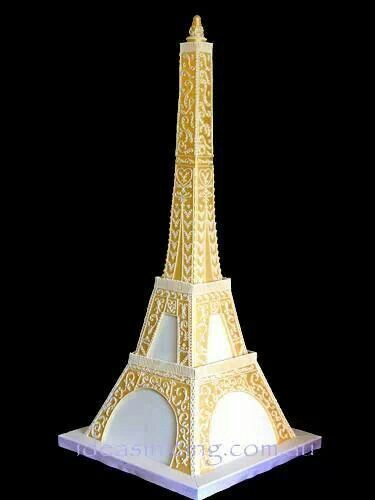 Eiffel Tower Cake Art