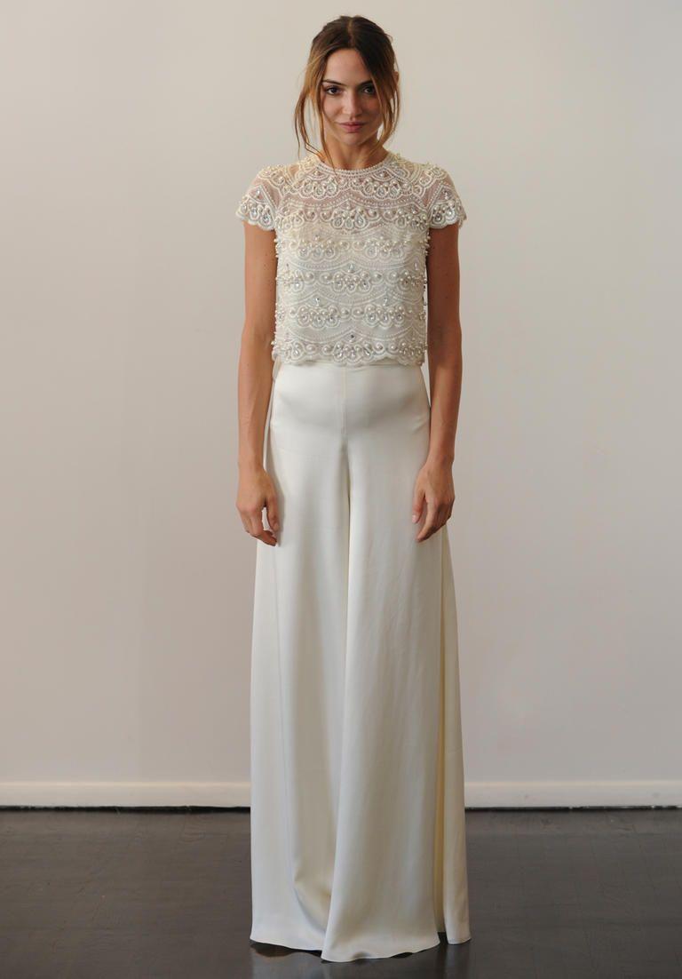 Silk sheath wedding dress  See Temperleyus Chic Beaded Wedding Dresses For Fall