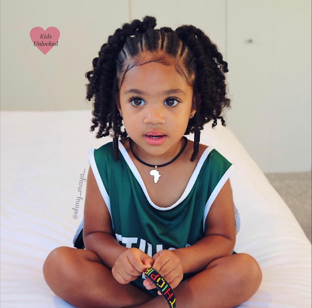 Maya 2 Years African American Ethiopian Follow Instagram Com Kidsunlockedig Black Kids Hairstyles Hair Styles Kids Braided Hairstyles