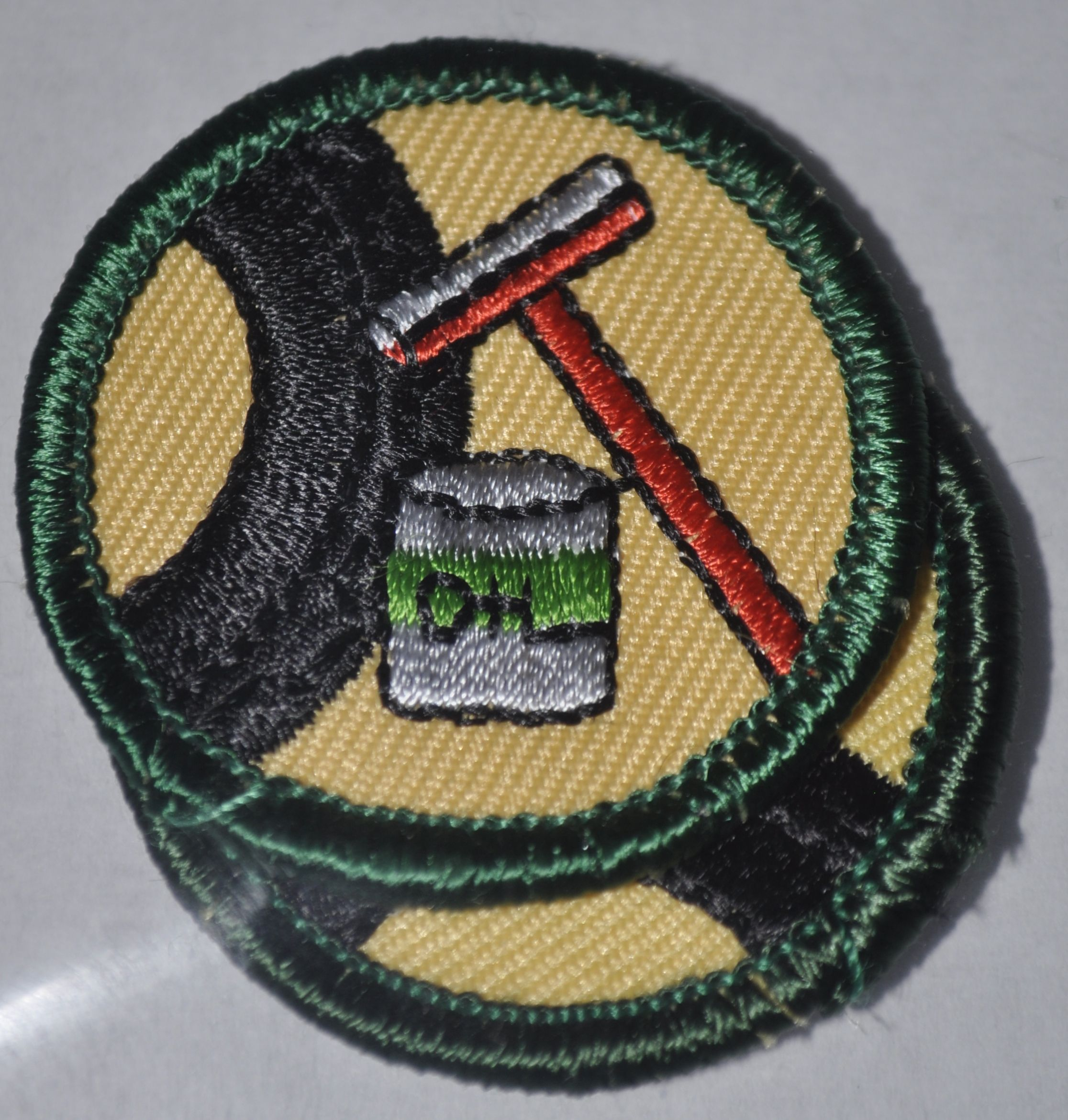Retired Junior Girl Scout Badges: Car Care, 86 badges available, $1