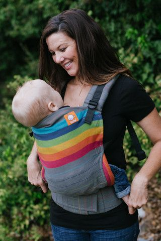 Standard Size Full Wrap Conversion Tula Baby Carrier Girasol