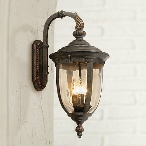 Bellagio collection 20 1 2 high outdoor wall light style 90534 outdoor walls lights and walls