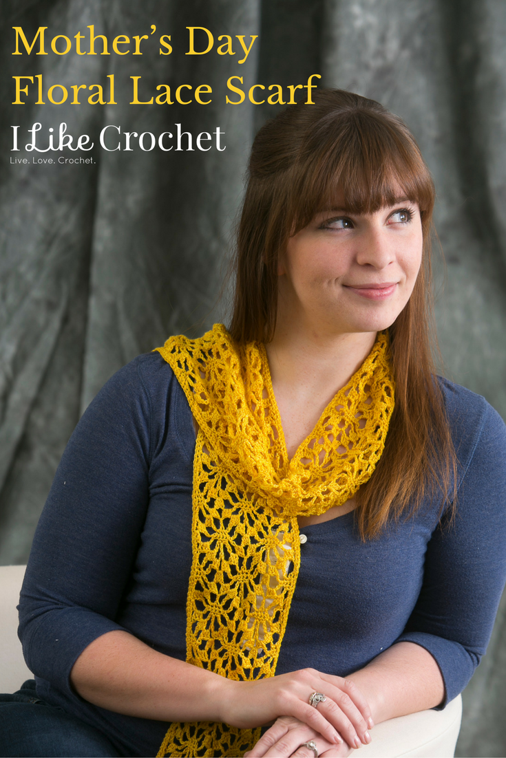 Lace crochet scarf pattern crochet scarf patterns pinterest lace crochet scarf pattern bankloansurffo Image collections