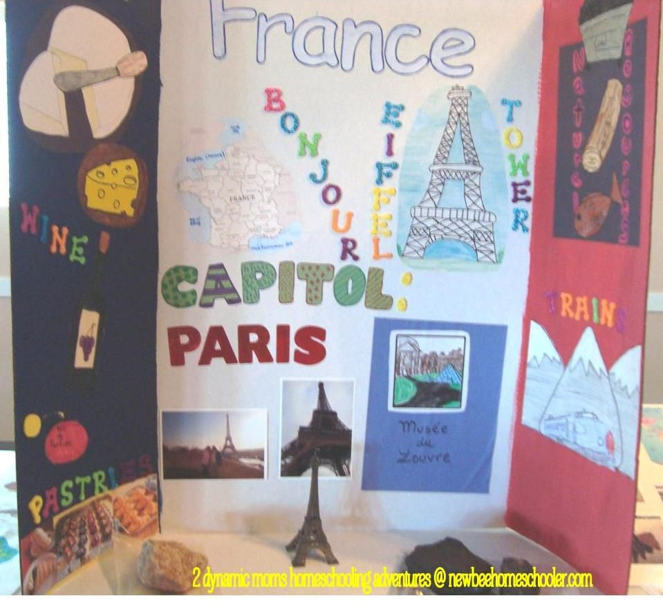 School Geography Quest - France Ge-og-ra-phy
