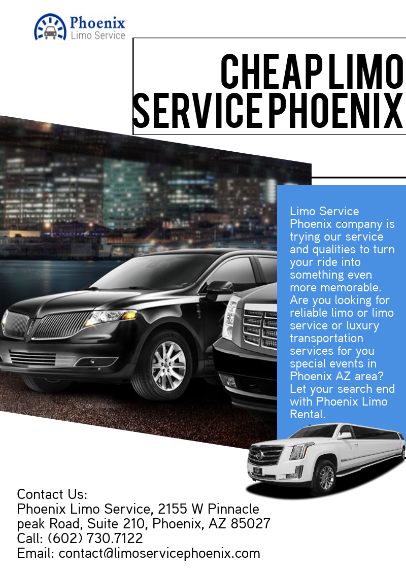 Pin By Limo Service Phoenix On Cheap Limo Service Phoenix Az Cheap Limo Service Limo Transportation Services