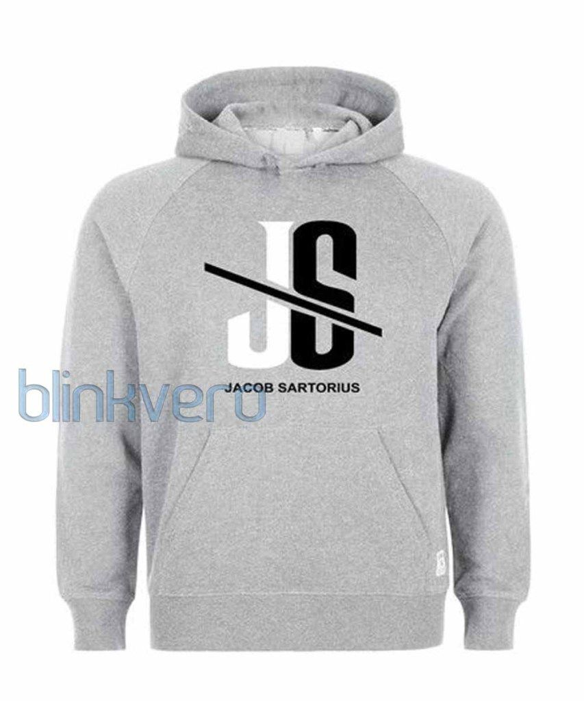 Jacob Sartorius logo girls and mens hoodies unisex adult