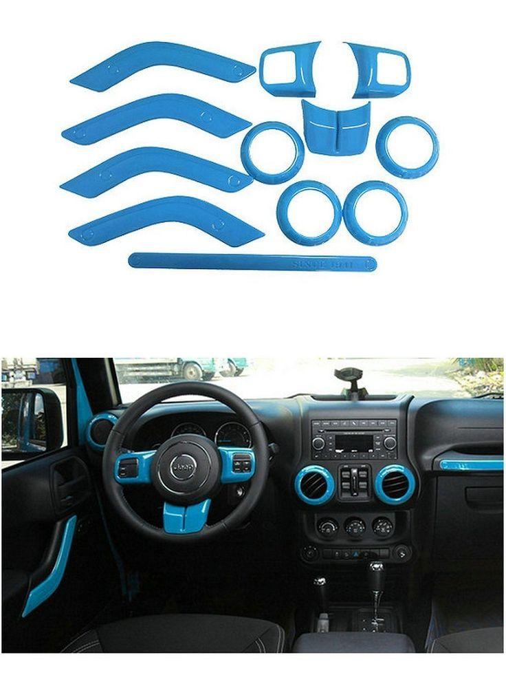 20112017+ Jeep Wrangler JK Complete Interior Trim / Bezel