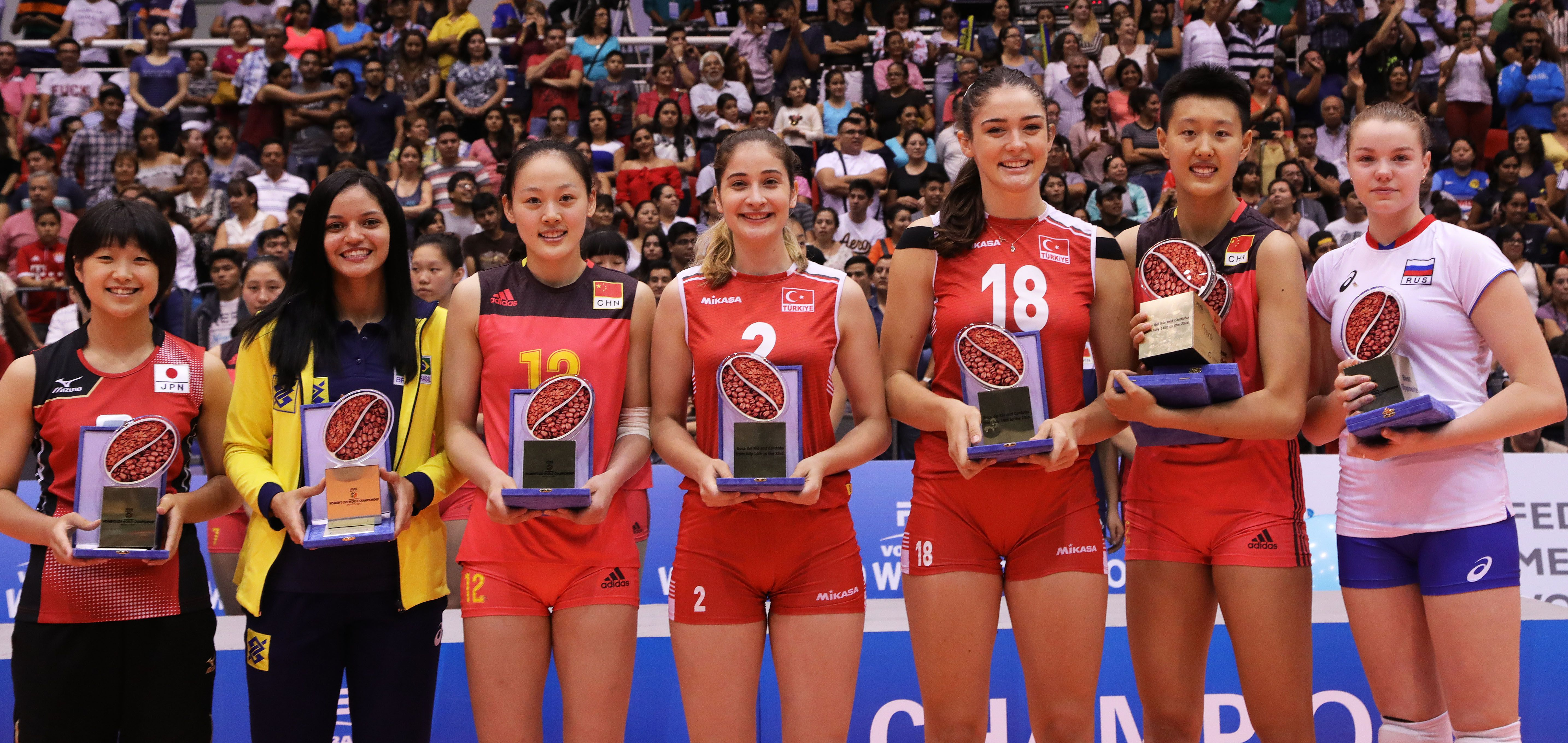 News Detail Dream Team Setter Tamaki Matsui Japan Opposite Anna Kotikova Russia Outside Spikers Wu Han China Hanyu Volleyball Articles New Details