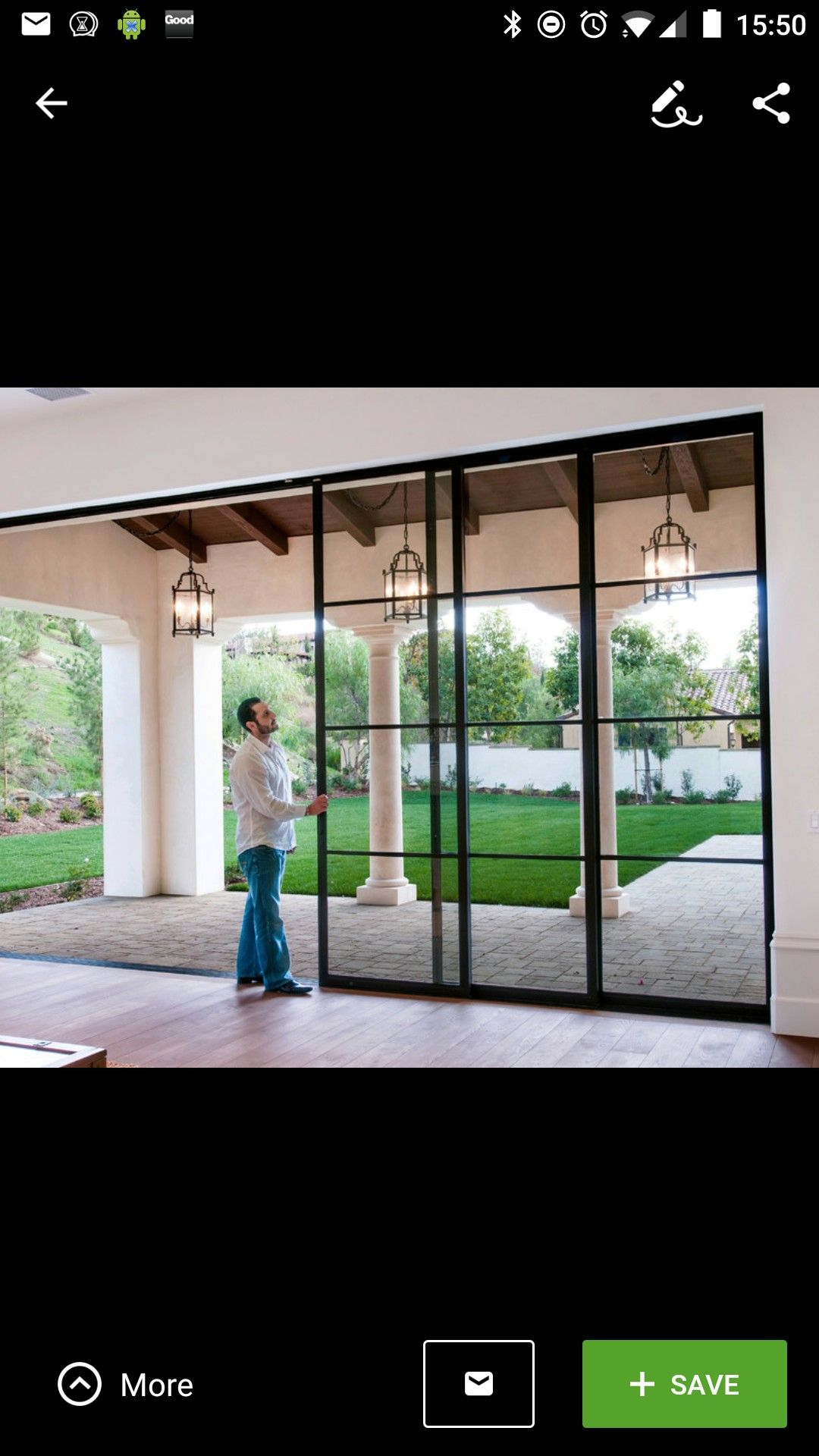 Sliding Doors Back
