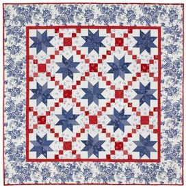 Oh My Stars Pattern Throws Fourth of July Quilts American ... : fourth of july quilt pattern - Adamdwight.com