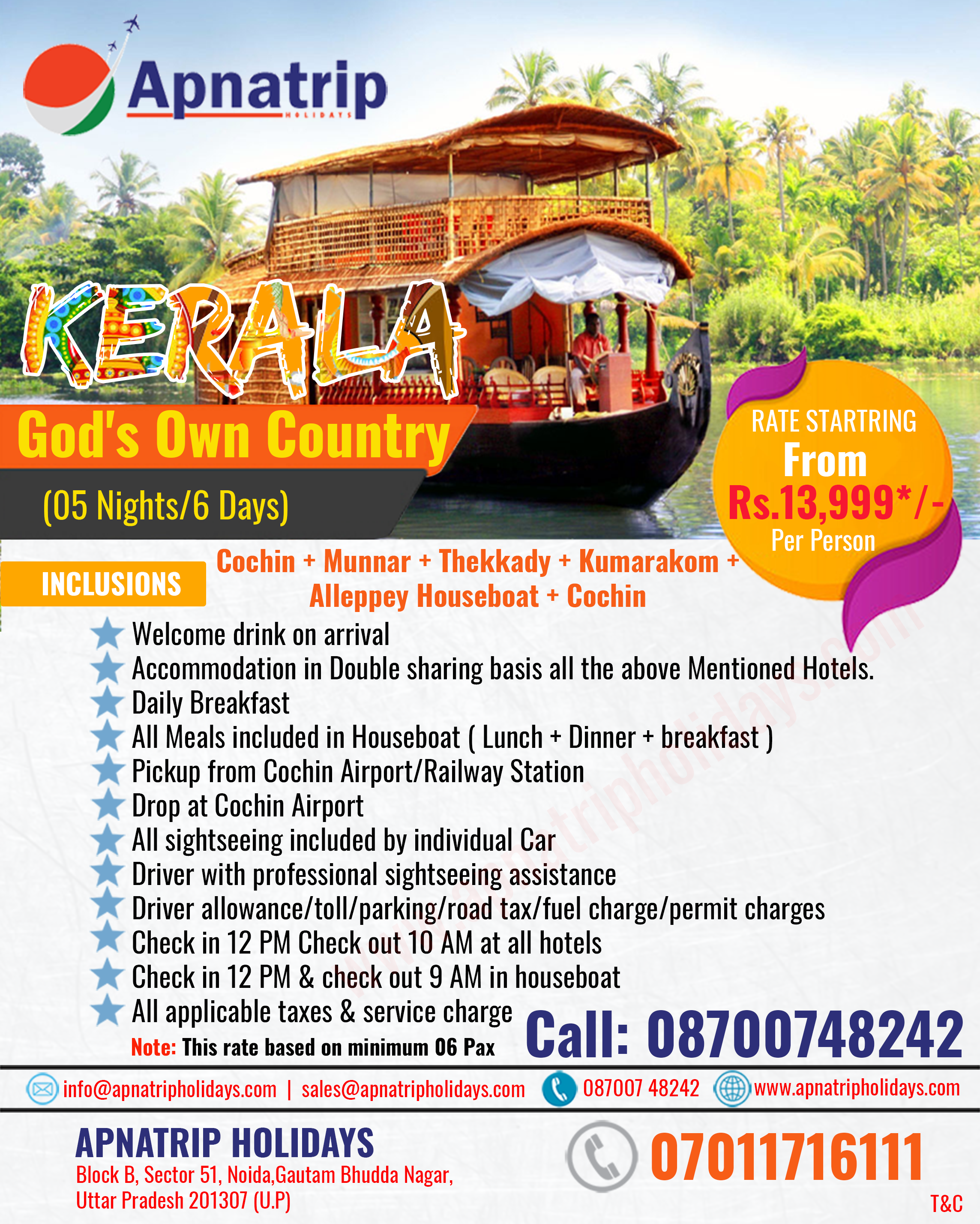 Apna Trip Holidays is a leading travel agency in india offers best