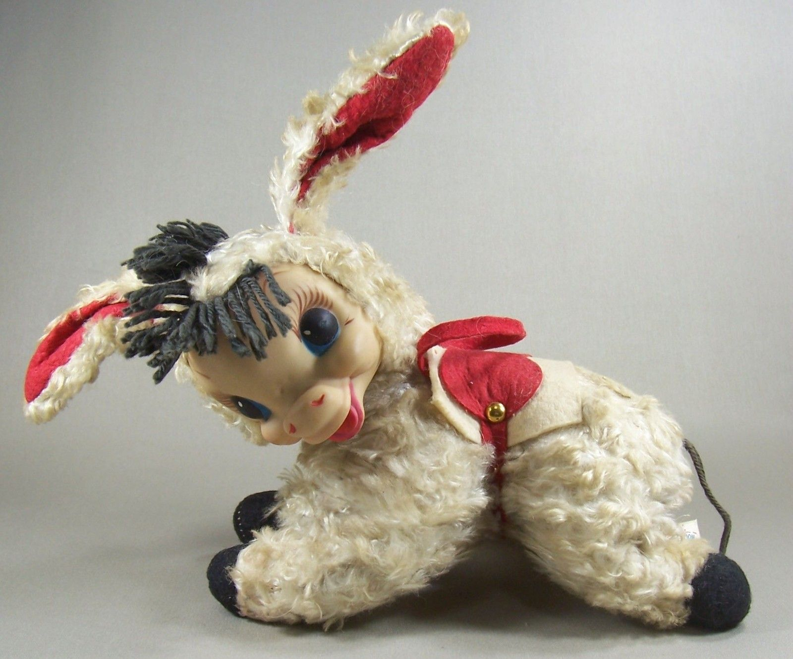 Vintage Rushton donkey found on eBay | Rushton Toys and ...