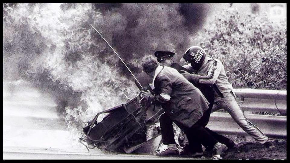 1973 Roger Williamson Crash