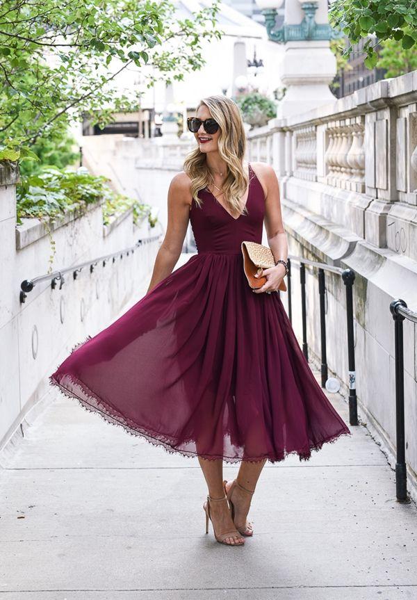 Was trägt man zu einer Hochzeit: 25 AbendKleider für ...