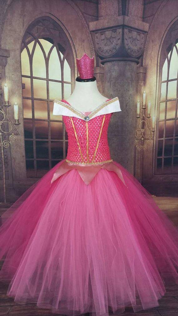 Pink tutu princess dress