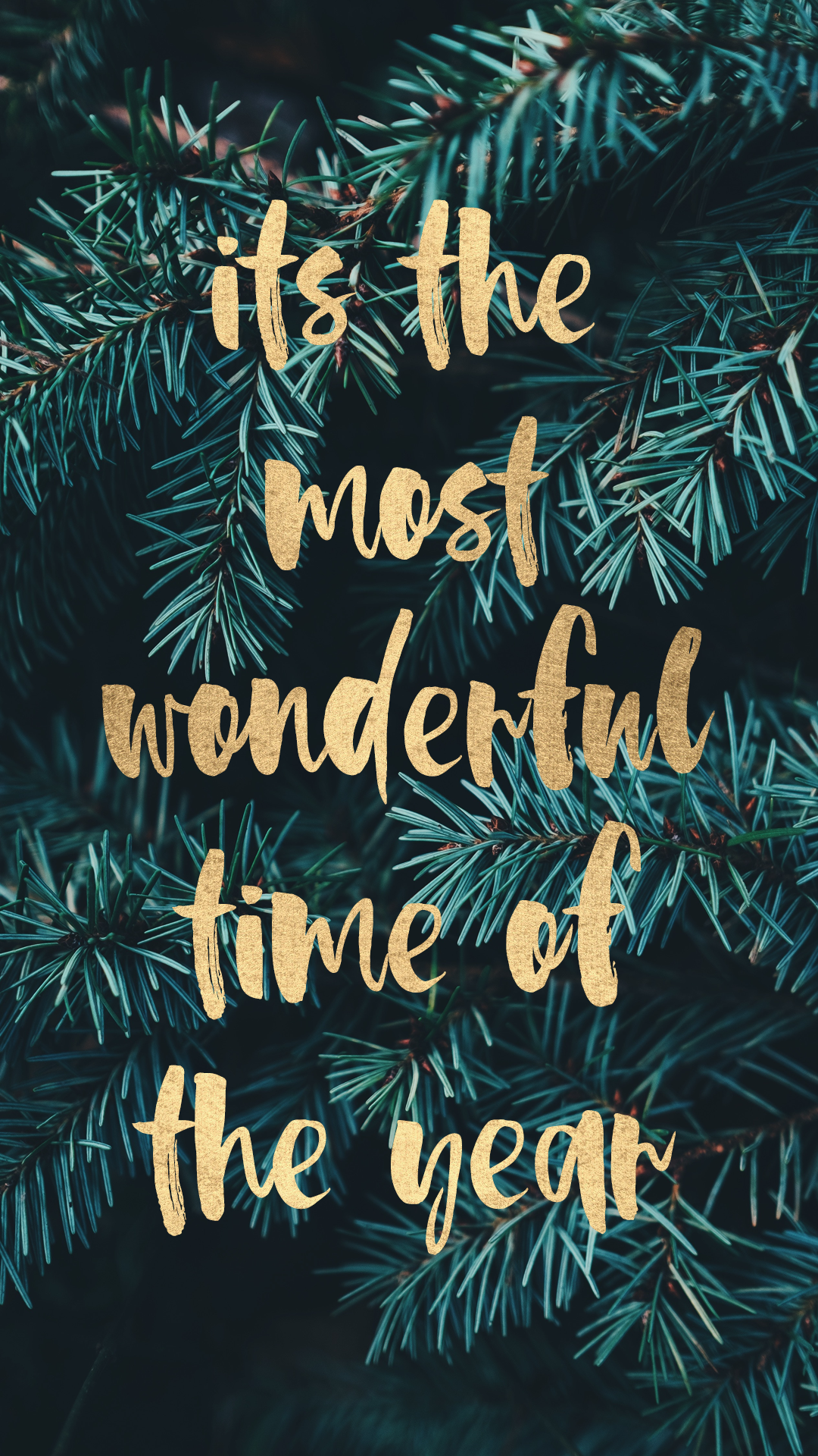 It Is The Most Wonderful Time Of The Year Free Wallpaper Or Background For Your Christmas Phone Wallpaper Wallpaper Iphone Christmas Cute Christmas Wallpaper