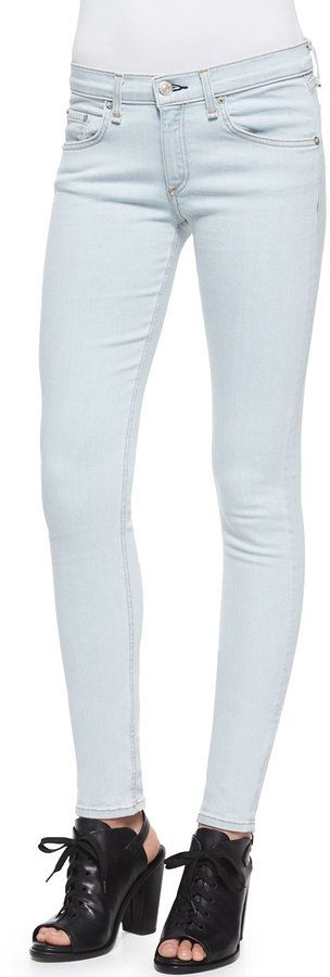 rag & bone/JEAN The Skinny Jeans, White Water ($40)