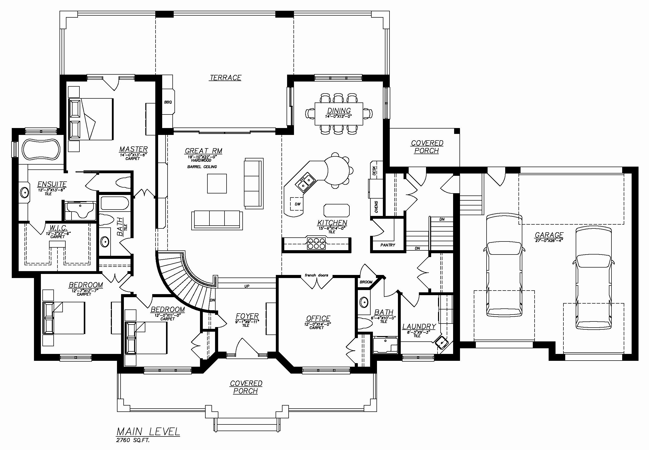 Hillside Walkout Basement House Plans Awesome 2 Story Lovely Ranch