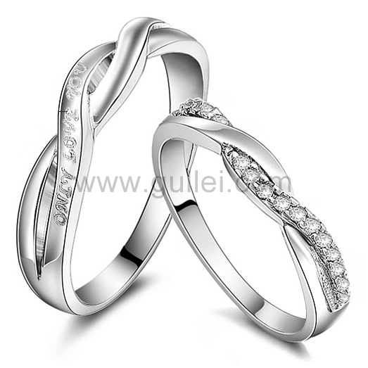 Unique Personalized Curved Wedding Bands For Couples In 2018