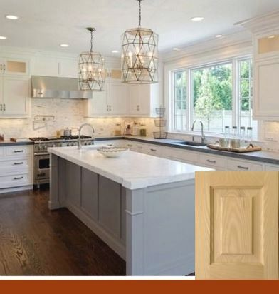 Off White Kitchen Cabinets With Oak Trim White Cabinets Kitchen