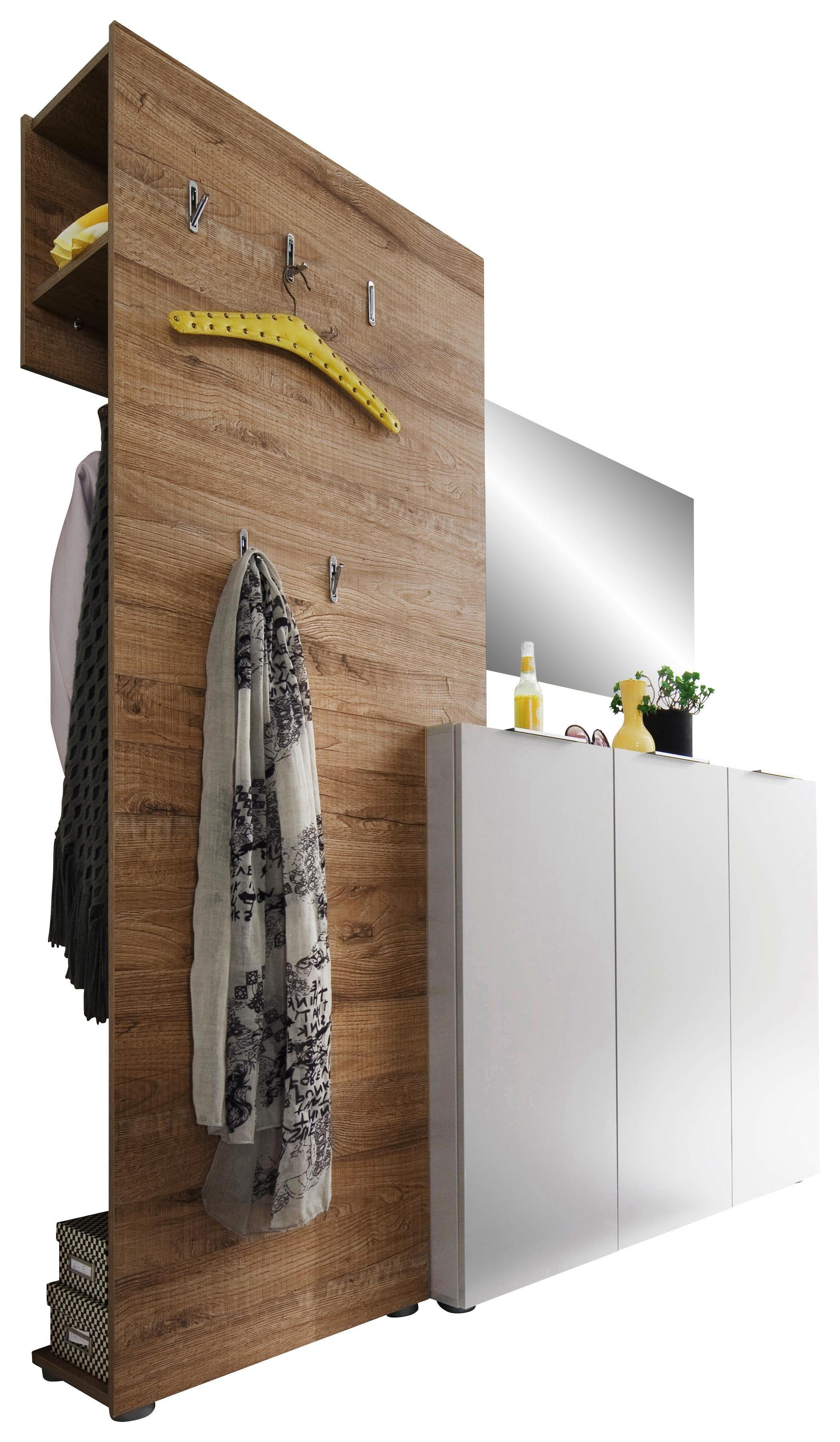Garderobe In 2020 Garderobe Weiss Garderobe Und Eiche