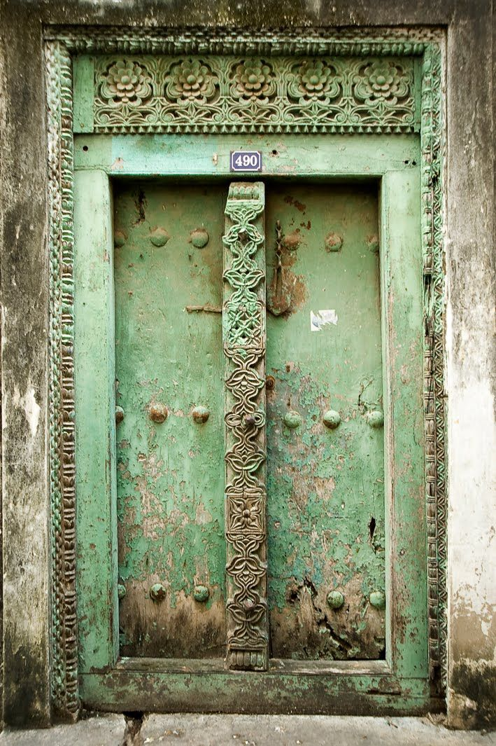 Africa | Doors of Zanzibar © Bulent Özgören #favoriteplaces