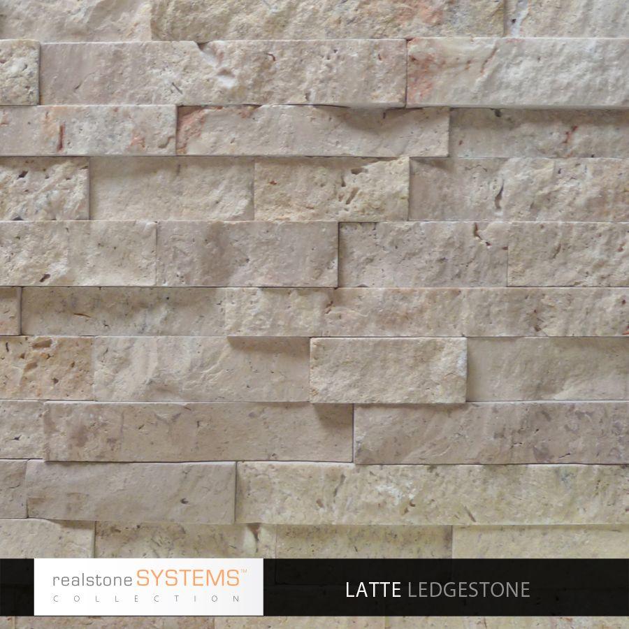 Latte Ledgestone Collection Veneer, Latte Ledgestone Collection Thin Stone  Veneer, Veneers From Realstone Systems