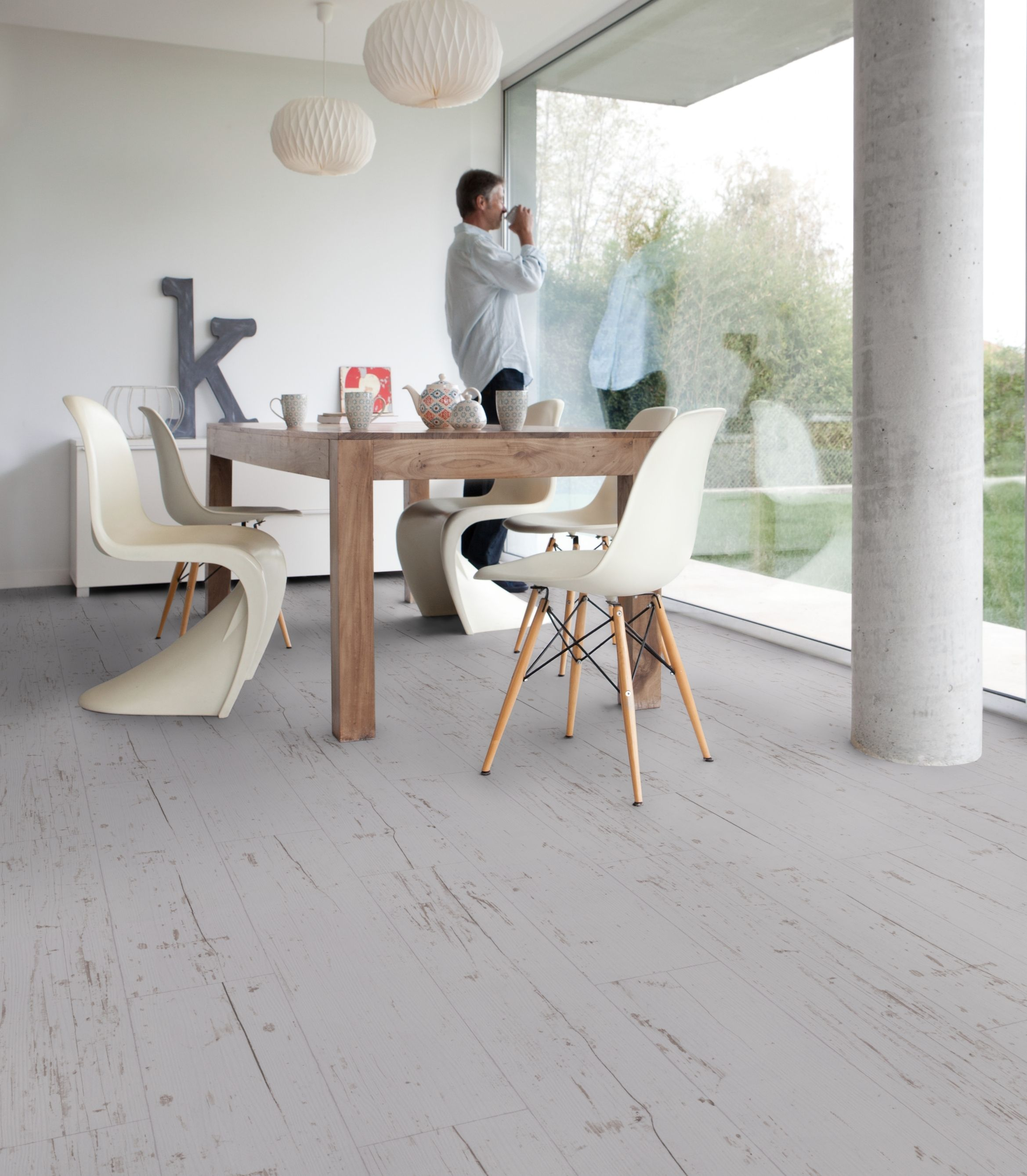 Saint Maclou Gerflor Hometown Light Grey Texline Hqr By Gerflor Flooring