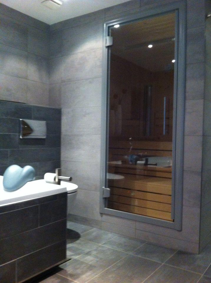inbouw sauna voor ultieme luxe in de badkamer | portfolio keukens, Badkamer