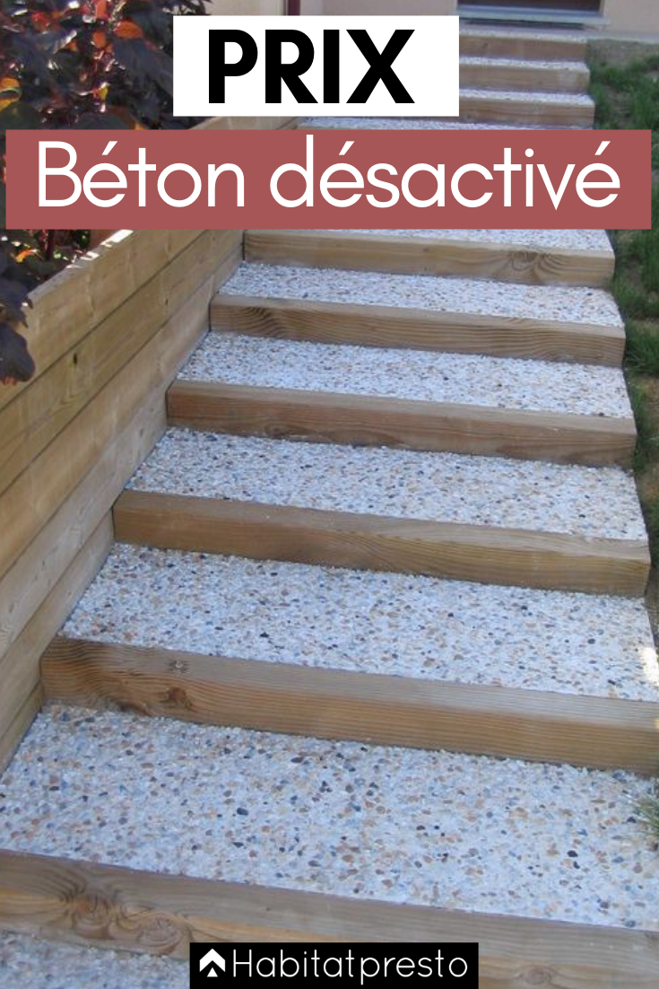 Prix Du Beton Desactive Au M Calculez Votre Budget Facilement Beton Desactive Terrasse Beton Et Terrasse Beton Desactive