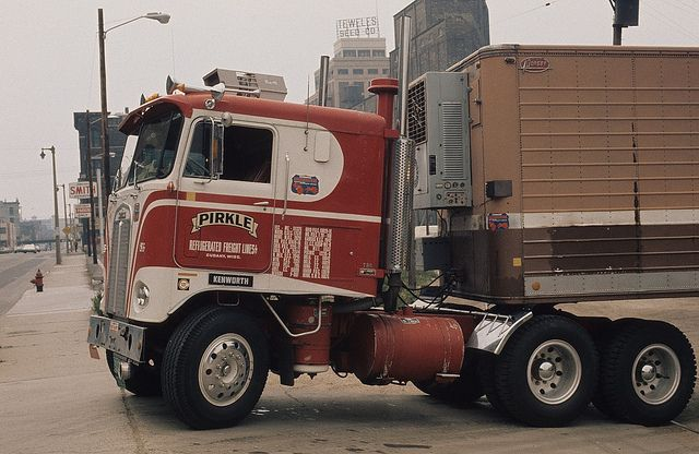 Proud Pirkle | Here we have a cab over KW leased to Pirkle F… | Flickr