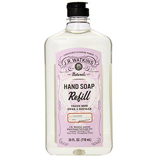 J R Watkins Liquid Hand Soap Refill Lavender 24 Oz To View