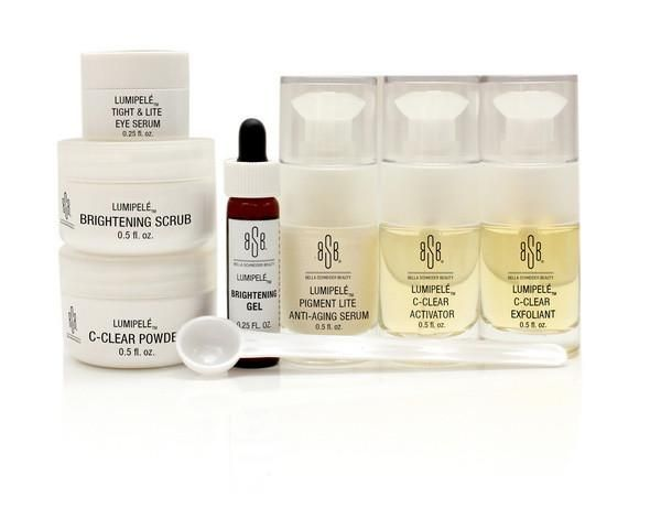 Bsb lumipel brightening facial kit facial and hyaluronic acid a do it yourself professional spa quality facial kit bsb lumipel brightening facial solutioingenieria Gallery