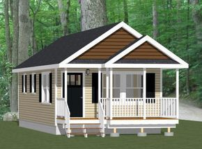 16x32 Tiny House 16X32H1G 511 Sq Ft