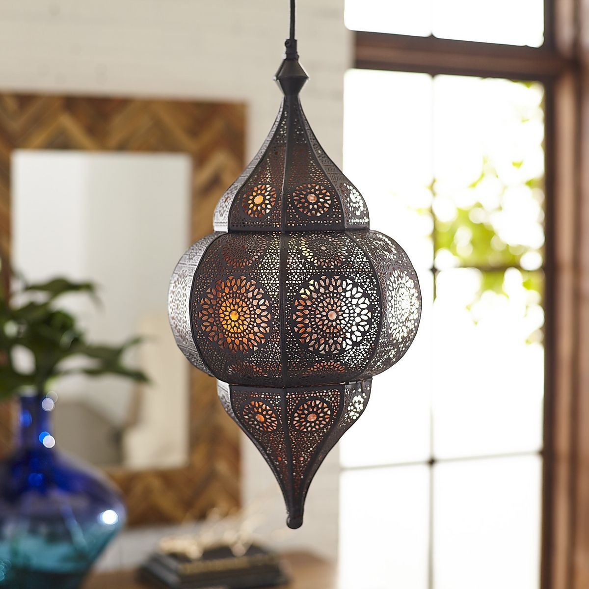 The Mystique Of A Moroccan Lantern Is Evident At First