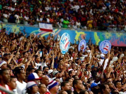 Bahia marca no fim, espanta zebra e vence o Bragantino na Arena