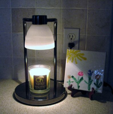 Since You Cannot Have Lit Candles In A Residence Hall This Is Another Alternative To A Candle Warmer Flameless Candles Oil Candles Candle Warmer